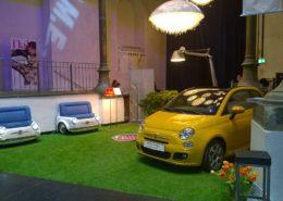 Messeauftritt Werbeauftritt Promotion Fiat frei-stil Events