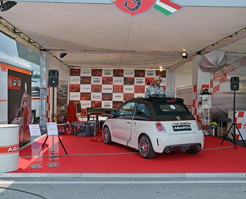 Abarth Messeauftritt Promotion Kärnten Klagenfurt Österreich