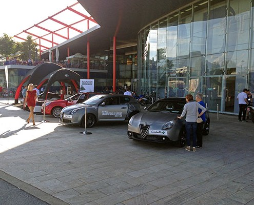 Launchevent Fiat Fahrzeug Kärnten Klagenfurt