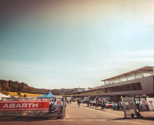 Abarth Ventilspiel Spielberg Kärnten Event Werbung Promotion