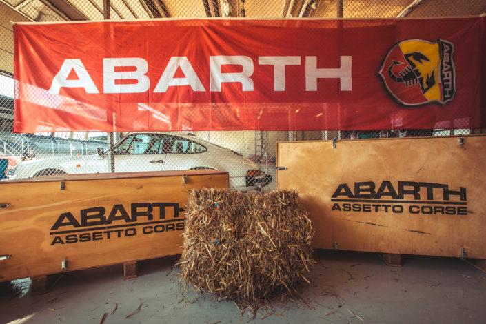 Abarth Ventilspiel Spielberg Kärnten Event Werbung