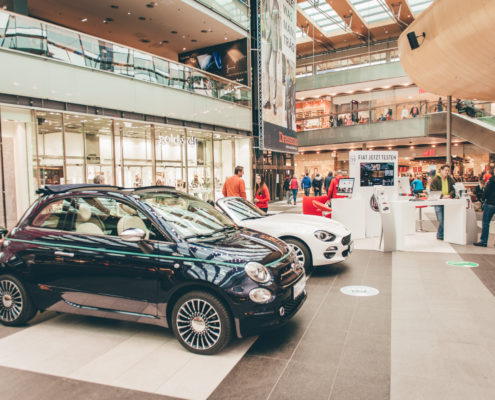 Atrio Villach Fiat Promotion Roadshow Kärnten