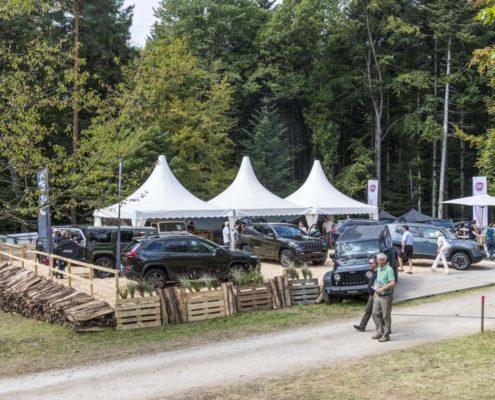 Messeauftritt Event Fahrzeuge Messestand