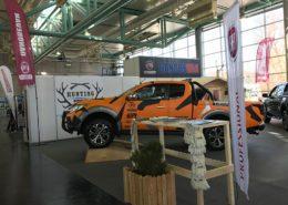 Messeauftritt Hohe Jagd Messe Salzburg Fahrzeugpräsentation Event Salzburg frei-stil Event-und Werbeagentur