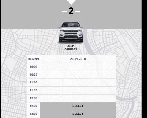 Buchung Probefahrten Testfahrten Buchungstool Buchungsplattform Website Design frei-stil Klagenfurt Wien