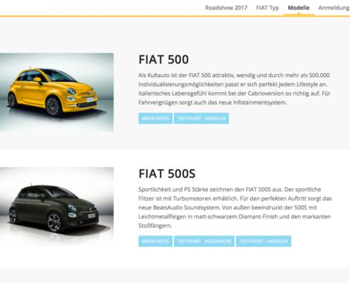 Website Webdesign Probefahrten Buchungstool Homepage CRM Leadmanagement