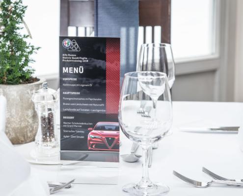 Stelvio Alfa Romeo Eventagentur Werbeagentur Wien Klagenfurt Fahrzeugpräsentation Präsentation Vortrag
